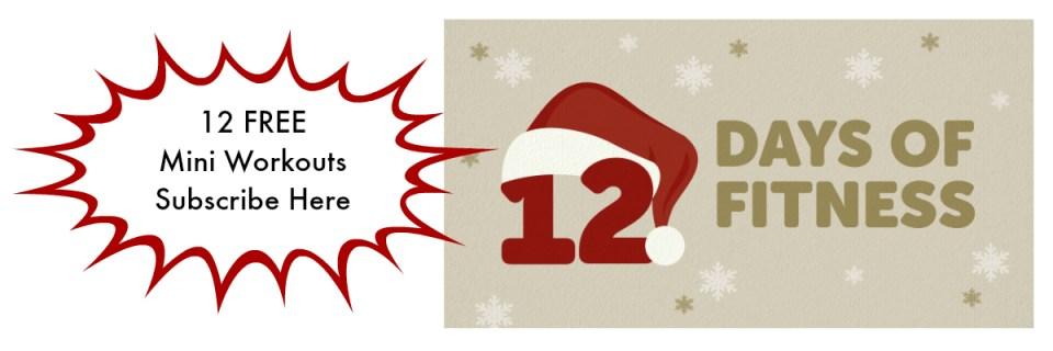 santa hat on number 12