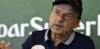 Rohr Vows To Avenge Shocking Defeat To CAR In Douala