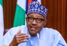 Buhari on Galadima's Death