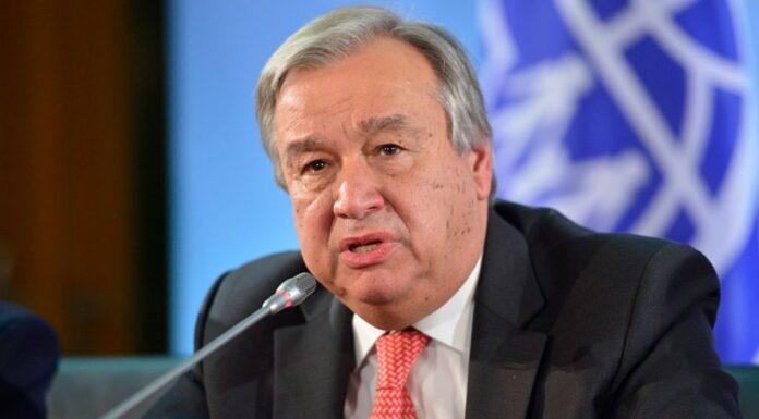 UN Chief Guterres Seeks Second Term