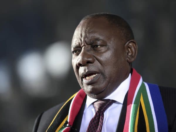 Mob Violence Coordinated — South African President