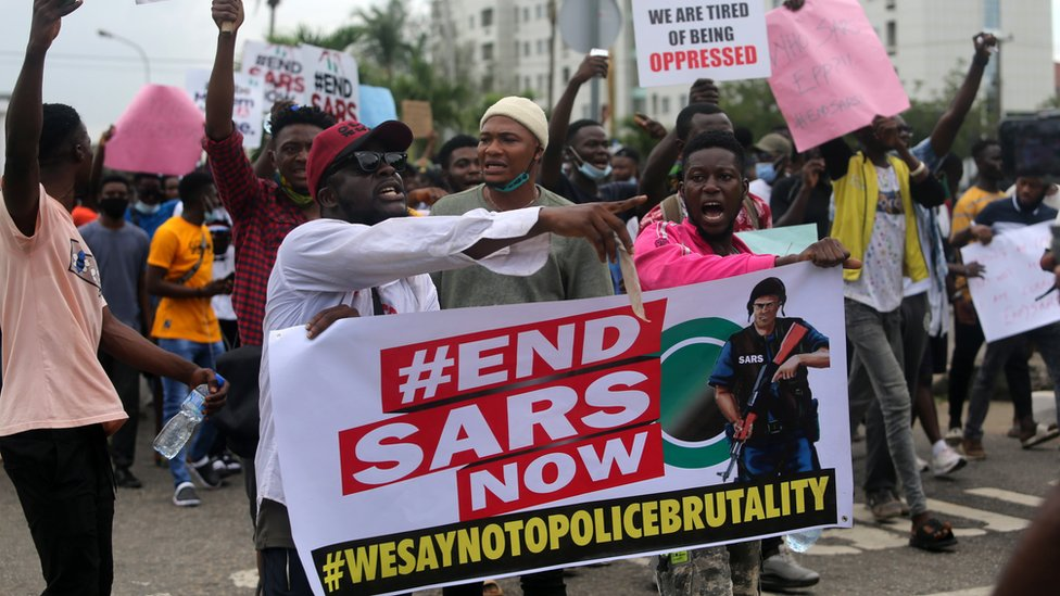tinubu and #ENDSARS protest