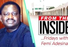 The Priest And The President, By Femi Adesina