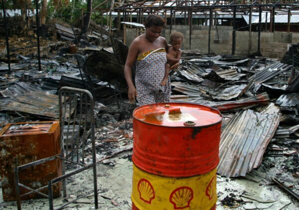 Shell Nigeria Employees Oil