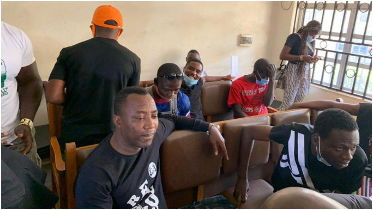 Breaking! 'Cross Over Protest' Court Remands Sowore, Others In Kuje Prison
