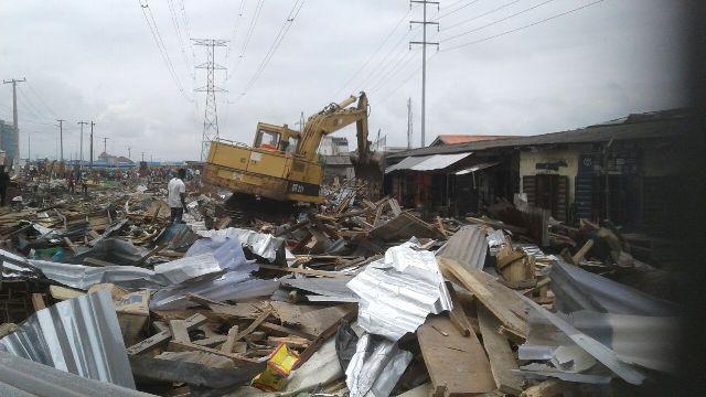 FESTAC Demolition 5,000 Displaced Traders Drag Govt To Court Amidst Protests