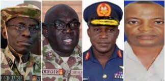 Nigeria's New Military Service Chiefs Unveiled!