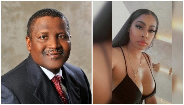 $13,230 Rent: Dangote's ex-Girlfriend Lands In Mess As U.S Landlord Evicts Her