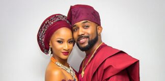Celebrity Couple, Banky W, Adesua Welcome First Child