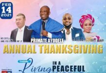 Lagos Church Invites Davido For Thanksgiving Service On Valentine's Day