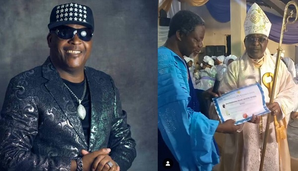 Legendary Singer, Sir Shina Peters Becomes Bishop (IMAGES)