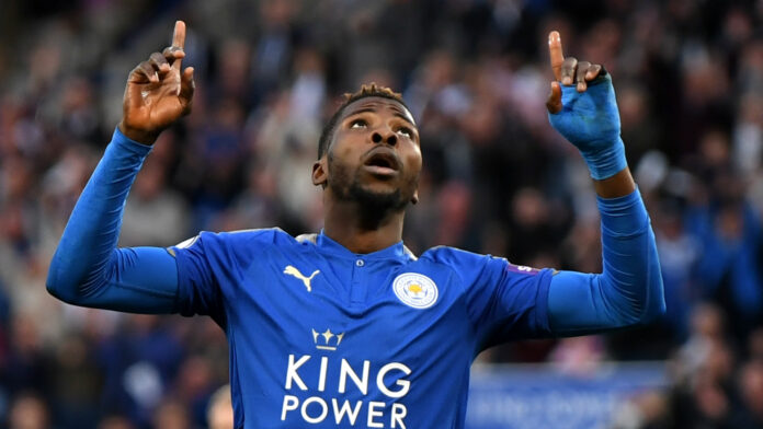 EPL: Iheanacho's Strike Moves Leicester To Top-Four Hopes