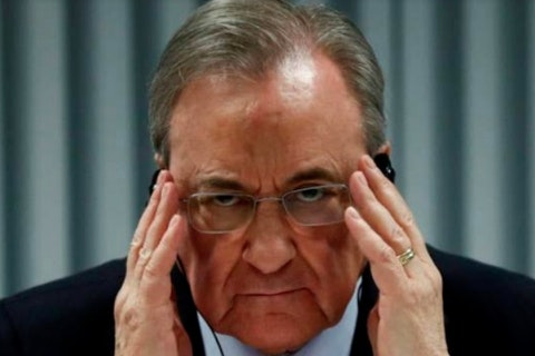 Real Madrid President Test Positive To Covid-19