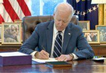 $1.9trn Stimulus Package Biden Signs First Major Legislative Bill