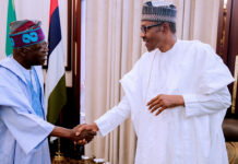 Buhari Greets Asiwaju Tinubu on 69th Birthday