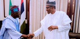 Buhari Greets Asiwaju Tinubu on 69th Birthday