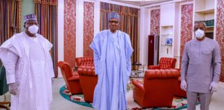 Buhari Meets NASS Leadership over security, COVID-19 Supplementary Budget