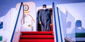 Buhari Returns From London