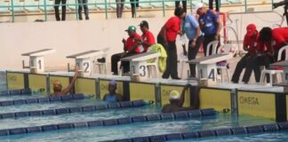 20th NSF Delta, Bayelsa, Edo Break Swimming Records