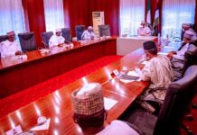 Buhari, Northern Governors Meet In Aso Villa