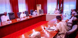 Buhari, Northern Governors Meet In Aso Villa