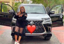 Funke Akindele Buys Brand New Lexus Worth N135M (Video)