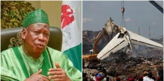 How I Escaped Death In Plane Crash – Ganduje