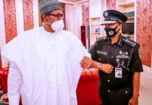 Minister Presents New Ag. I-G Baba To Buhari
