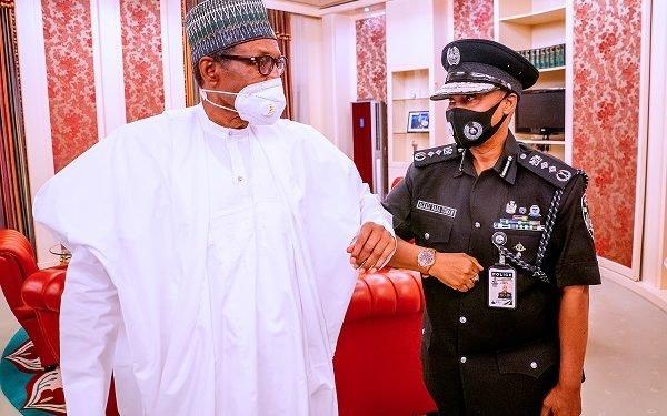 Minister Presents New Ag. I-G Baba To Buhari