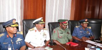 Insecurity Service Chiefs To Brief Senate on Thursday