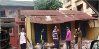 Tension In Onitsha As Truck Loaded With Live Bullets Falls