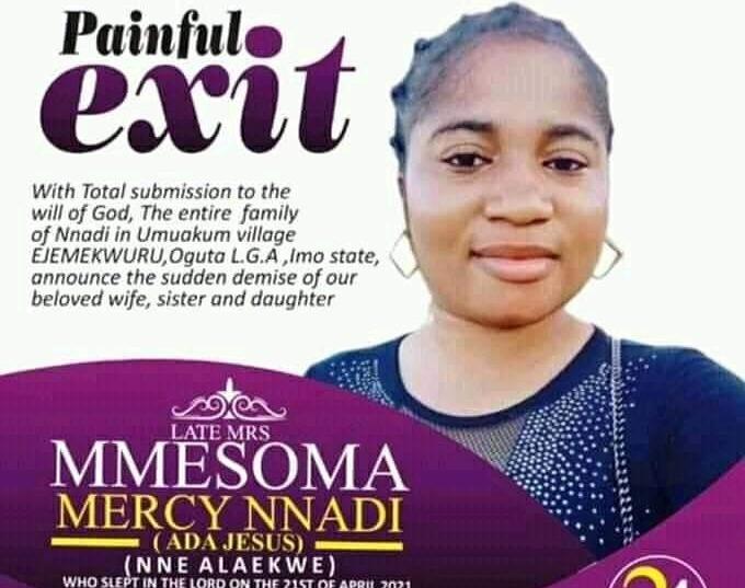 Ada Jesus: Funeral Arrangements Out