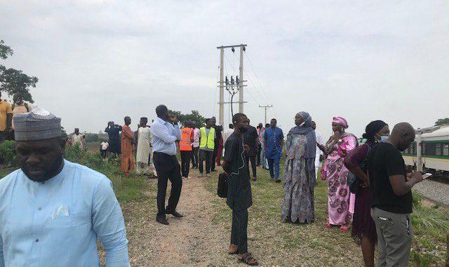 Kaduna-Abuja Train Breaks Down In Forest, Stranded Passengers In Fear