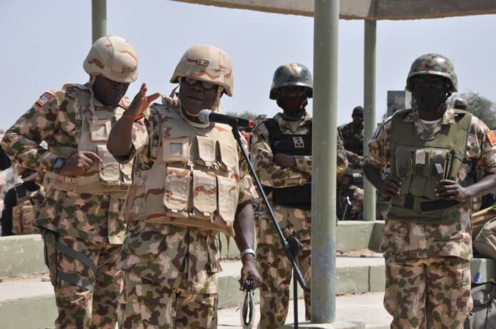 Army Chief Hails Troops' Resilience In Restoring Peace, Security In Imo