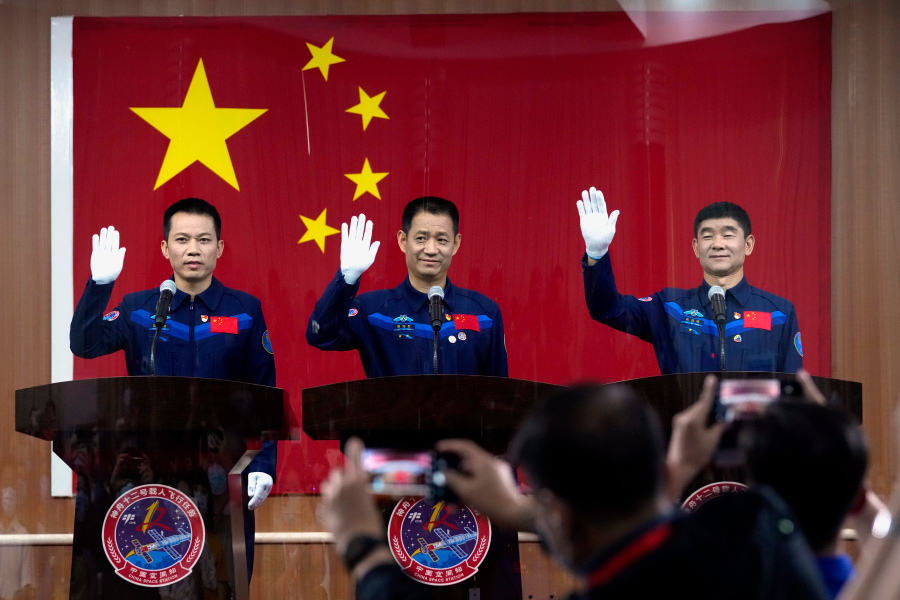 China To Send Astronauts To Space Station Site For First Time