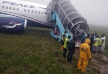 Passengers Evacuated As Air Peace Aircraft's Tyre Bursts