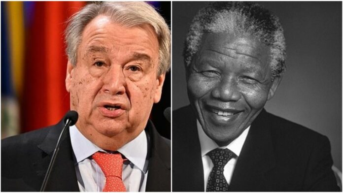 UN Chief Urges The World To Emulate Mandela's Legacy