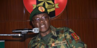 Insurgency: Remain Focused, Proactive, COAS Tells Troops