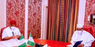 Security: Uzodinma Briefs Buhari, Urges Nigerians To Safeguard Nigeria's Sanctity