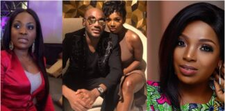 Reactions As 2Face, Annie Idibia Family Fight Dirty