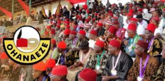 Buhari's Visit: Ohanaeze Rejects IPOB's Sit-At-Home Order