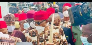 Buhari In Imo, Vows To Work With Uzodinma To End Insecurity
