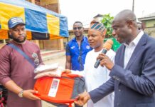 Foundation Extends Philanthropic Gesture To Students In Ajegunle