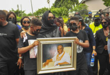 Notable Dignitaries Present At Final Burial Rite Of Captain Hosa
