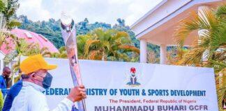 2022 Commonwealth Games: Buhari Receives Queen's Baton Relay