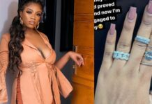 ex-BBNaija Housemate, Angel, Flaunts New Engagement Ring