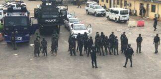 #ENDSARS Anniversary: Panic As Lagos Police Embark On Show Of Force