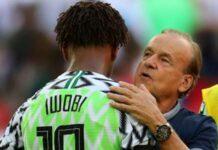 QATAR 2022: Why Iwobi Will Miss Nigeria's Qualifiers -- Rohr