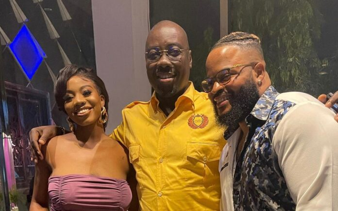 Obi Cubana Hosts BBNaija's Whitemoney, Angel