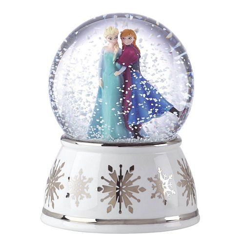 Disneys Frozen Snow Globes Disney Snow Globes